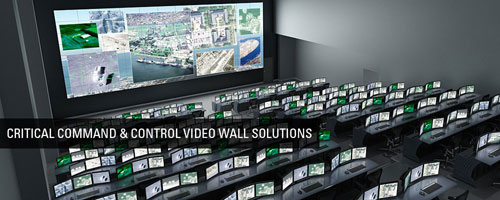 ویدئو وال در مراکز کنترل