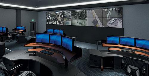 ویدئو وال در کنترل مراکز حفاظتی و نظارتی