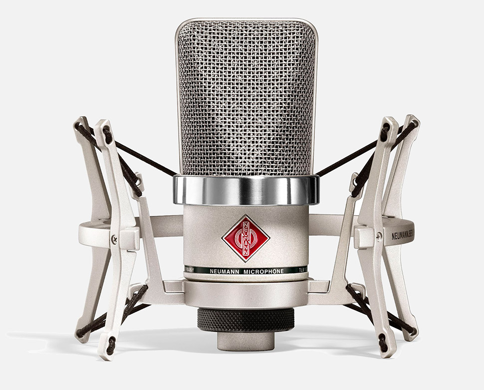 Neumann TLM 102 With ShockMount میکروفن