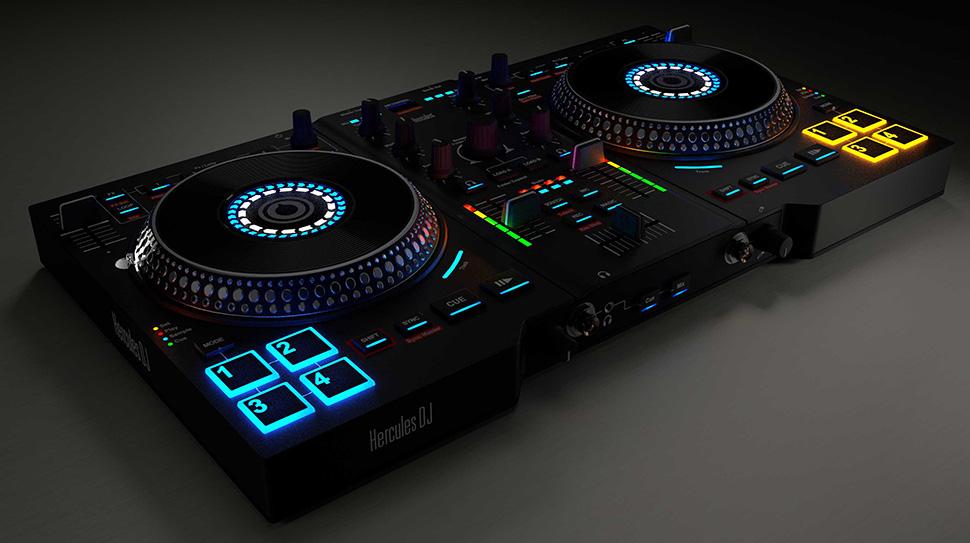 Hercules DJ Control AIR PLUS دی جی کنترلر