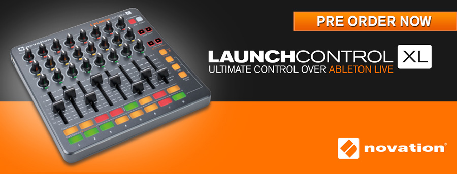 Novation Launch Control XL میدی کنترلر