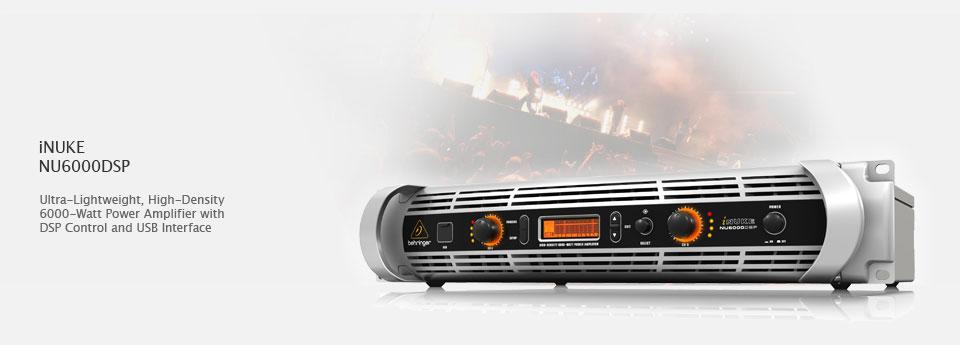 Behringer iNUKE NU6000DSP آمپلی فایر
